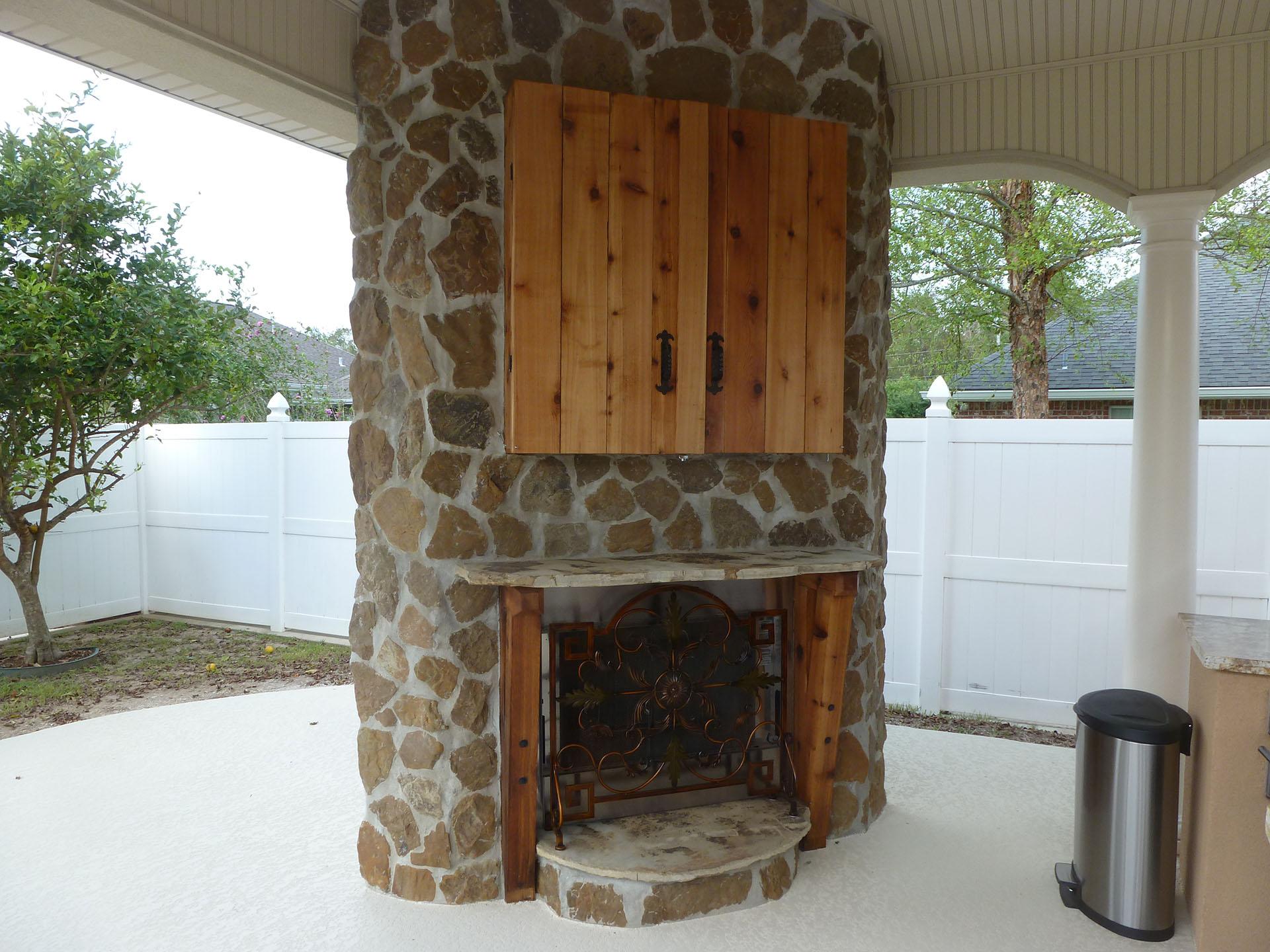 outdoor kitchens custom outdoor concepts. Black Bedroom Furniture Sets. Home Design Ideas