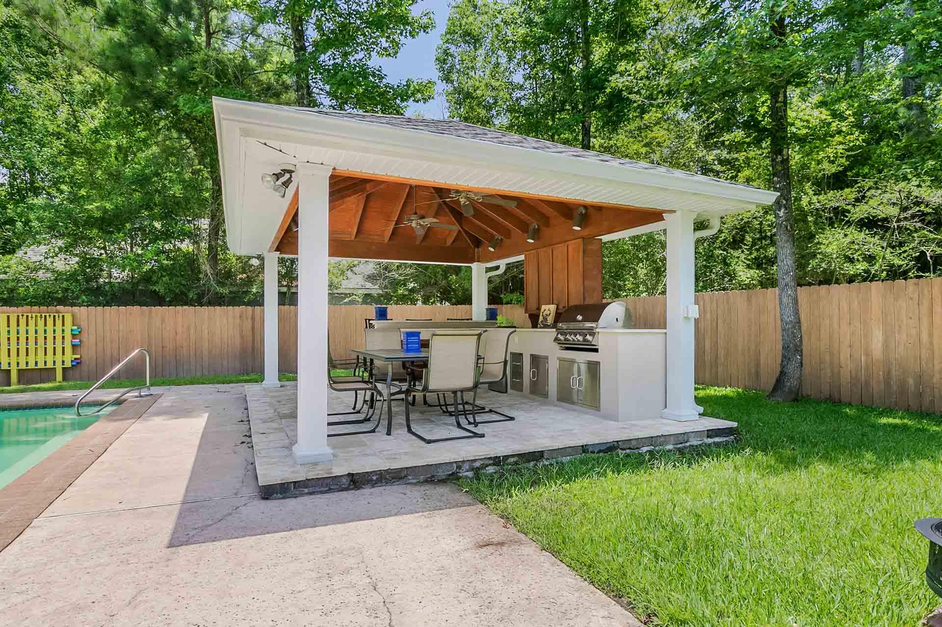 Backyard Pavillion pavilions | new orleans garden pavilions | custom outdoor concepts