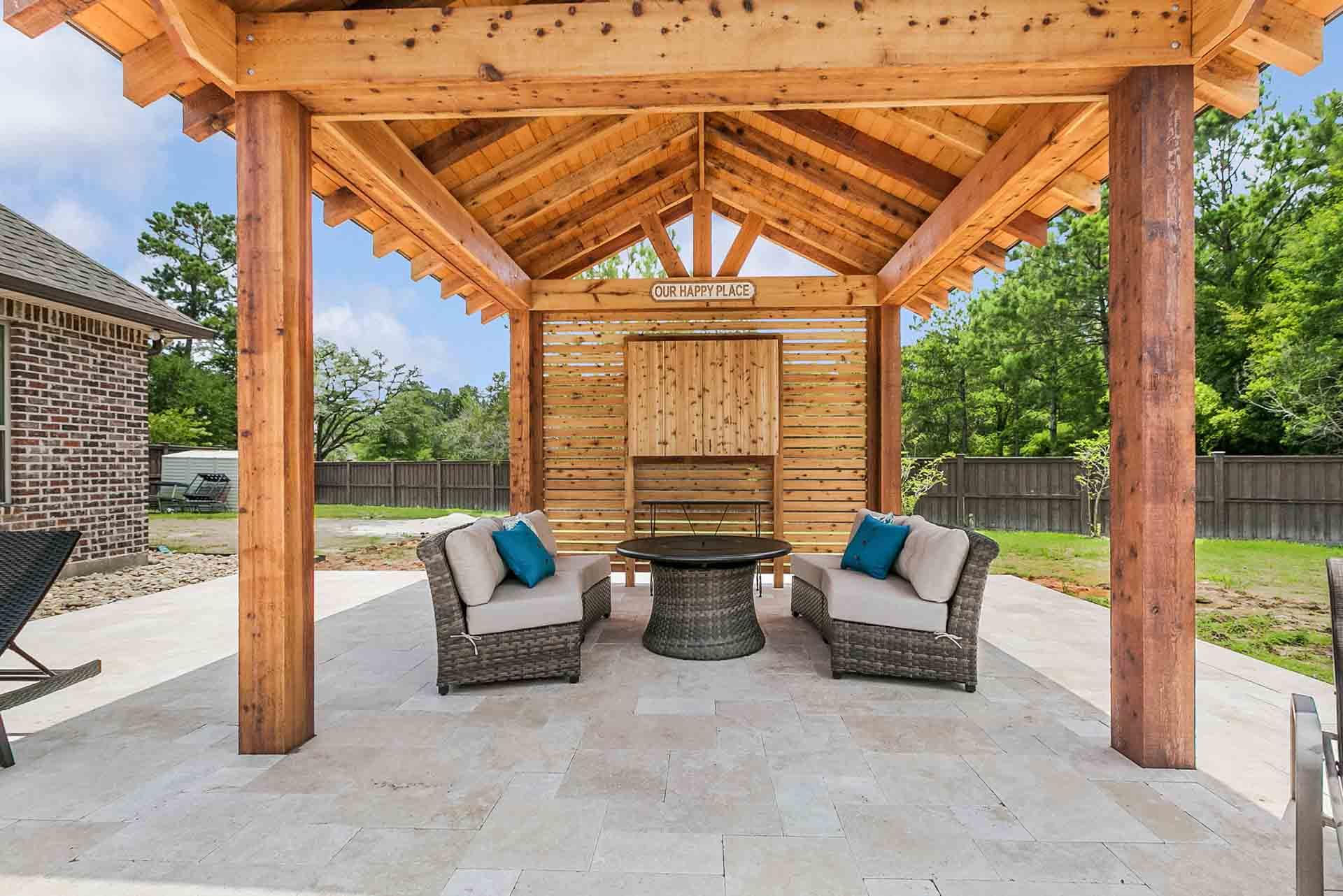 pergolas new orleans pergola designs custom outdoor concepts. Black Bedroom Furniture Sets. Home Design Ideas